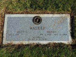 Marian E <I>Peterson</I> Walker