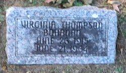Virginia <I>Thompson</I> Bohanan
