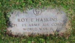 Roy E Haskins