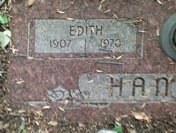 Edith Esther <I>Sharpe</I> Hancock