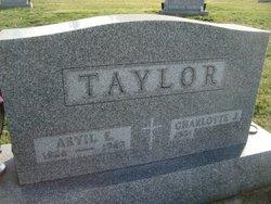 Arvil E Taylor