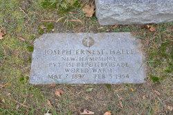 Joseph Ernest Halle