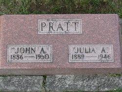 Julia A Pratt