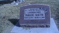Lavonda Faye <I>Parker</I> Mauth