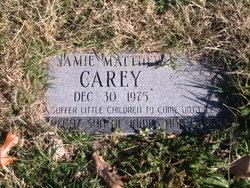 Jamie Matthew Carey