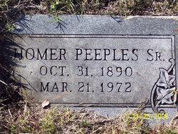 Homer Peeples, Sr