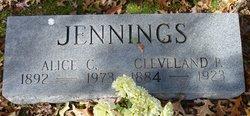 Alice Gertrude <I>Cleary</I> Jennings