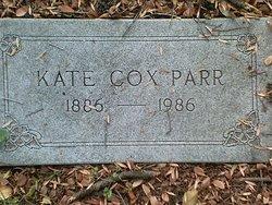 Kate <I>Cox</I> Parr