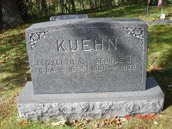 "Elizabeth ""Lizzie"" <I>Albrecht</I> Kuehn"