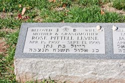 Rose <I>Pittell</I> Levine