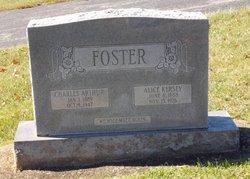 Alice <I>Kersey</I> Foster
