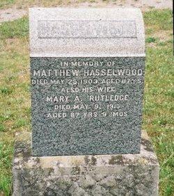 Mary Ann <I>Rutledge</I> Hesselwood