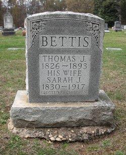 Sarah Jane <I>Littrell</I> Bettis