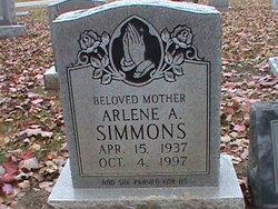 Arlene A Simmons