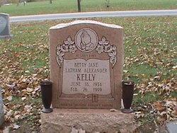 Betty Jane <I>Latham Alexander</I> Kelly