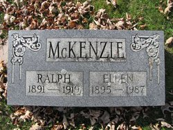 Ellen <I>Thompson</I> McKenzie