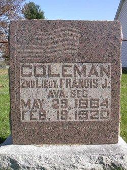 Lieut Francis J Coleman