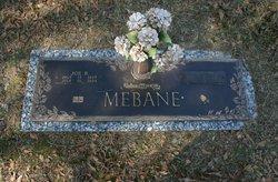 Alma O <I>Booth</I> Mebane