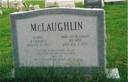 Mary Ann <I>McCadden</I> McLaughlin