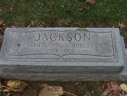 Carrie L <I>Dillard</I> Jackson