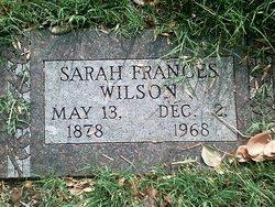 Sarah Frances Wilson