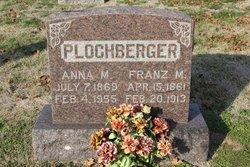 Anna Margaret <I>Jungmeyer</I> Plochberger