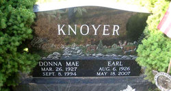 Donna Mae <I>Moorhouse</I> Knoyer