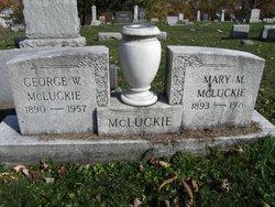 George W McLuckie
