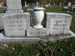 Mary M McLuckie
