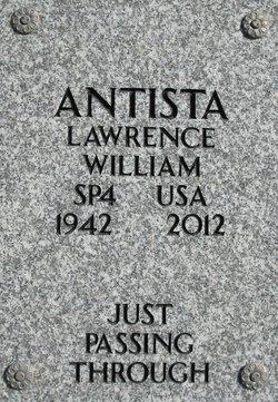 Lawrence William Antista