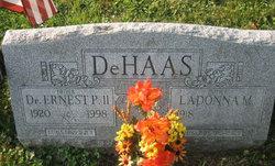 Lieut Ernest Preece DeHaas, II