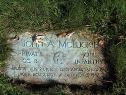 John A McLuckie