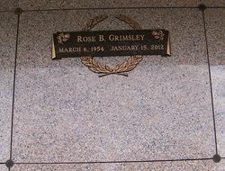 Rose Marie <I>Boatwright</I> Grimsley