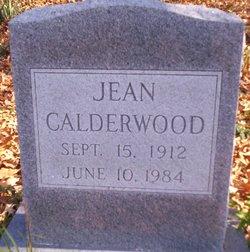 Florry Jean <I>Fitzhugh</I> Calderwood