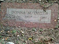 Donna M Taylor