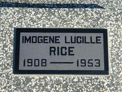 Imogene Lucille Rice
