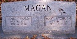 Mary Emma <I>Fitzhugh</I> Magan