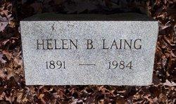 Helen B. <I>Beeber</I> Laing