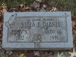 Viola E Dabney