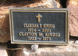 Clarissa F. Kindig