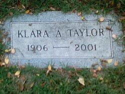 Klara A Taylor