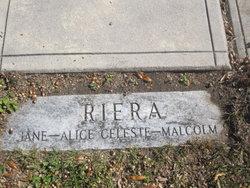 Alice Celeste <I>Bobe</I> Riera