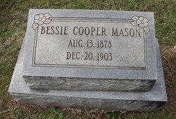 Bessie <I>Cooper</I> Mason