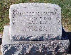 Maude Poe Foster