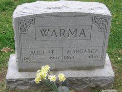 Margaret <I>Riedel</I> Warma