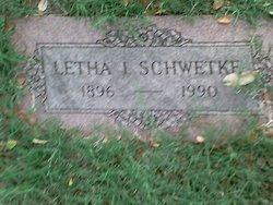 Letha L Schwetke