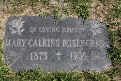Mary Calkins Rosencrans