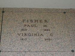 Virginia C <I>Geier</I> Fisher