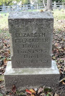 Elizabeth F Blackburn