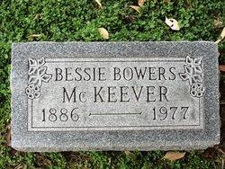 Bessie M <I>McDaniel</I> Bowers McKeever